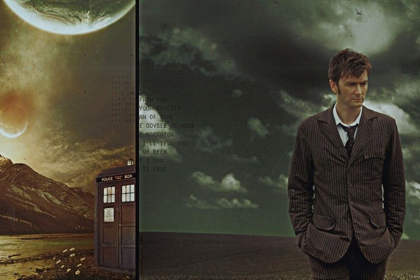 David Tennant Doctor Who for 2560x1440