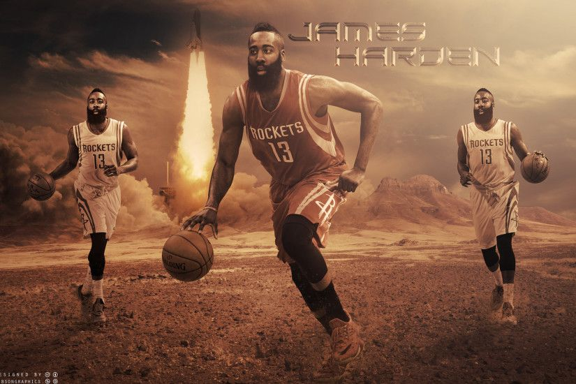 James Harden Rockets 2015 2560x1600 Wallpaper