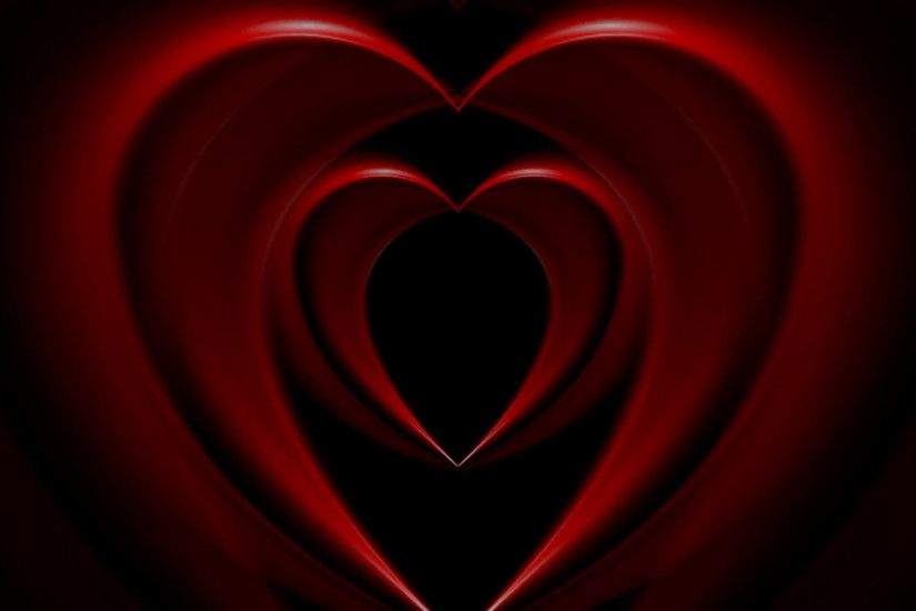 Bright red hearts abstract motion background. Video animation HD 1920x1080  Motion Background - VideoBlocks