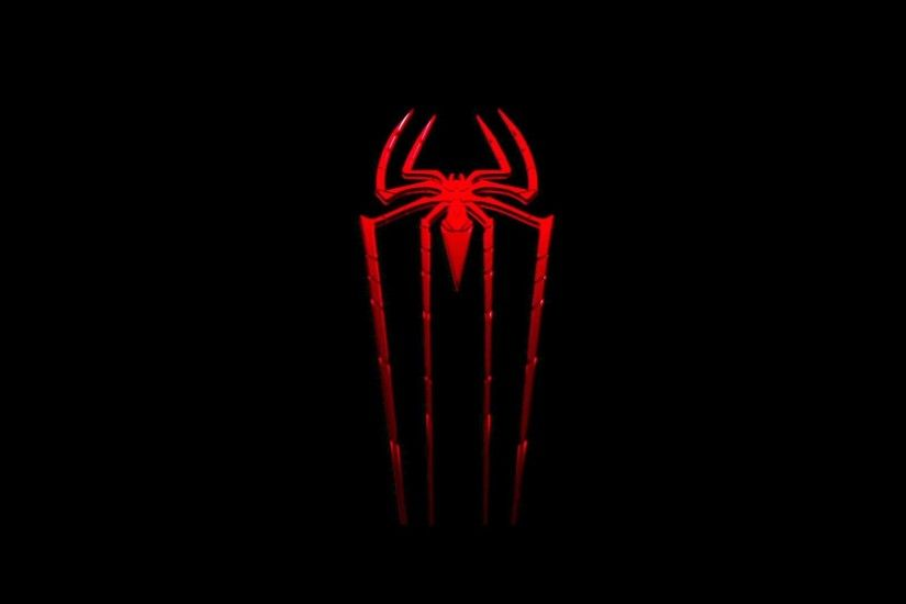 Black Spiderman Logo Cool Wallpapers