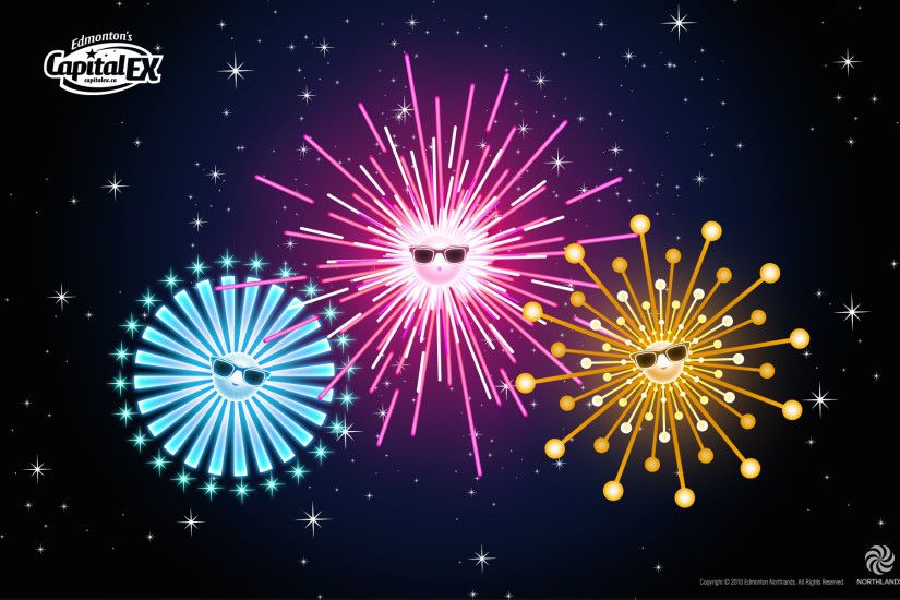 Cool Fireworks Wallpaper