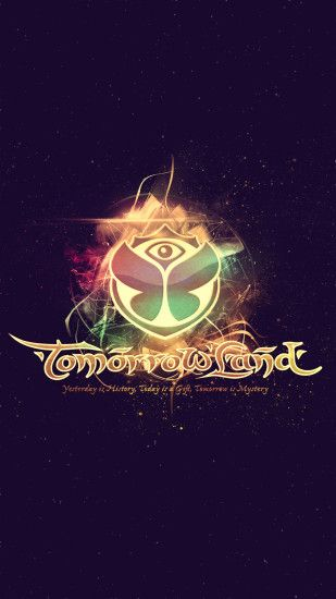 #Tomorrowland 2014 Electronic Music Festival Logo #Android #Wallpaper