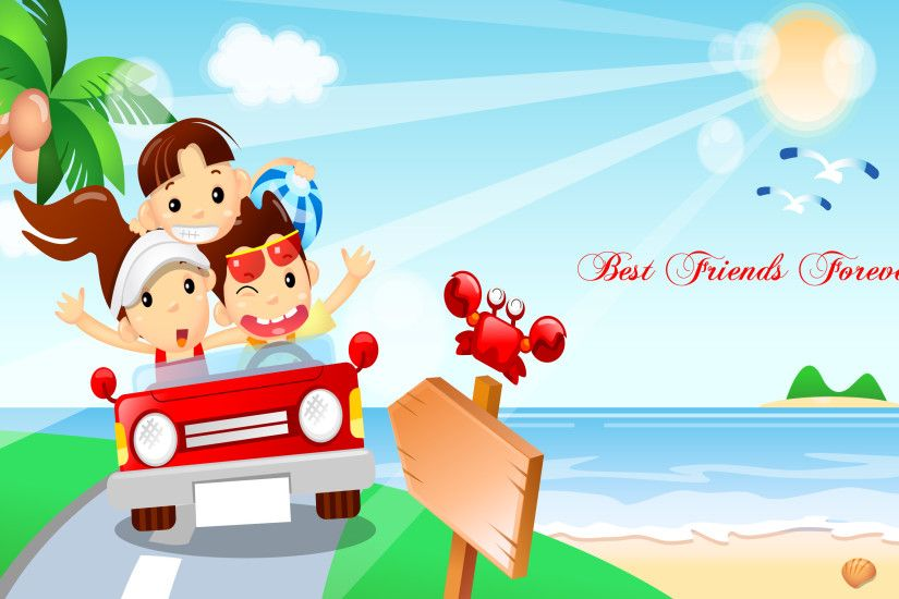 Best Friends Forever HD Wallpapers Happy, Friendship day, Friends, Best  Friend, HD