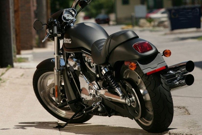 bike harley davidson street black road bike