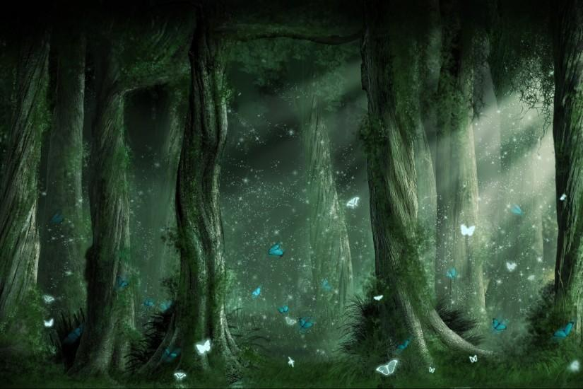 Dark Forest Backgrounds HD wallpaper background