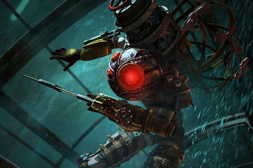 Bioshock 2 Widescreen Background.