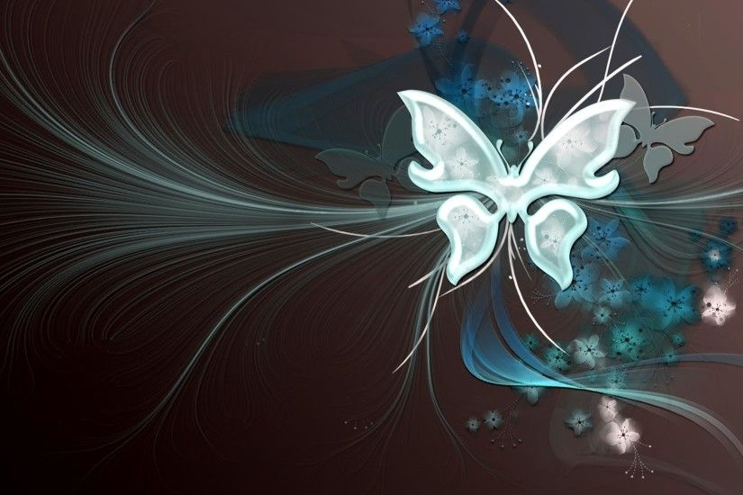 Desktop Wallpaper · Gallery · 3D-Art · Butterfly vector | Free .