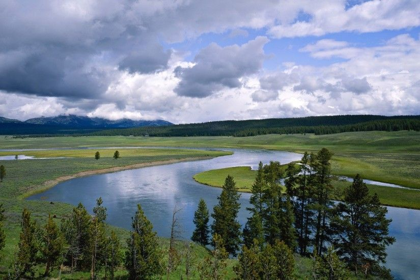 Wyoming Yellowstone rivers National Park wallpaper | 1920x1080 | 240480 |  WallpaperUP