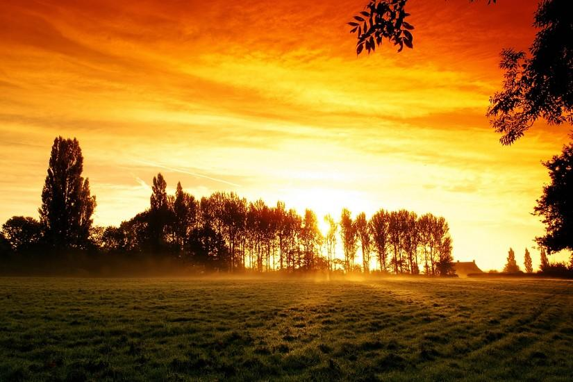 widescreen sunrise background 2560x1600