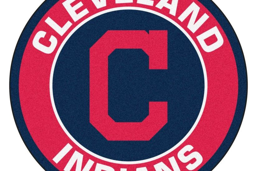 Fanmats MLB Cleveland Indians Red Nylon Roundel Mat (2'3 x 2'3) by Fanmats