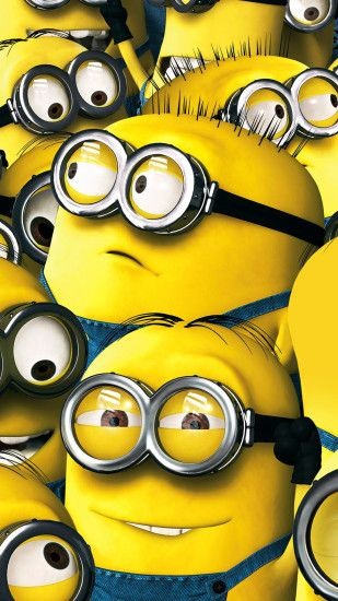 Despicable Me Minions Wallpaper - Free iPhone Wallpapers