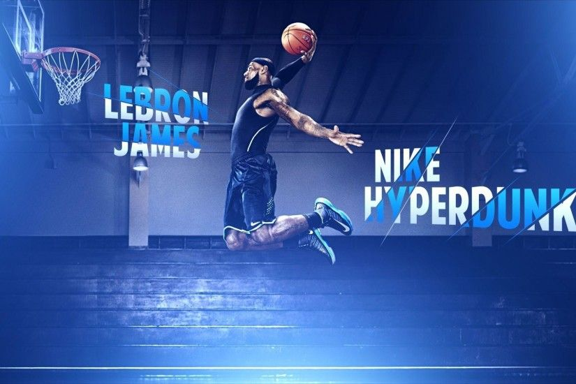 Lebron James Dunk Nike Basketball Hd Wallpapers