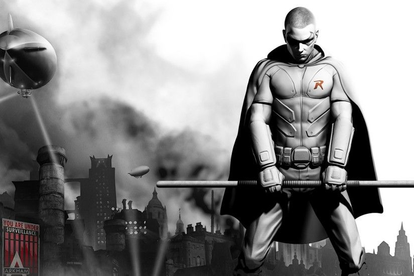 Video Game - Batman: Arkham City Robin (Batman) Wallpaper