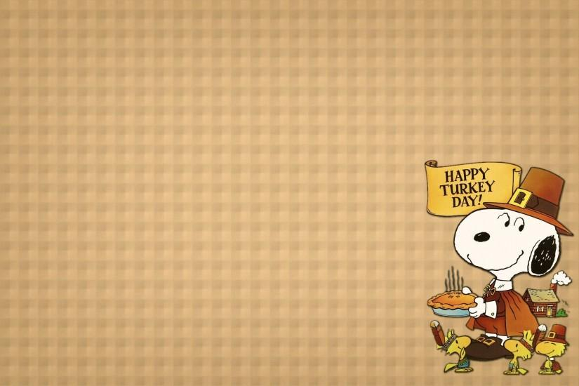 Thanksgiving Snoopy Wallpapers - Wallpaper Cave