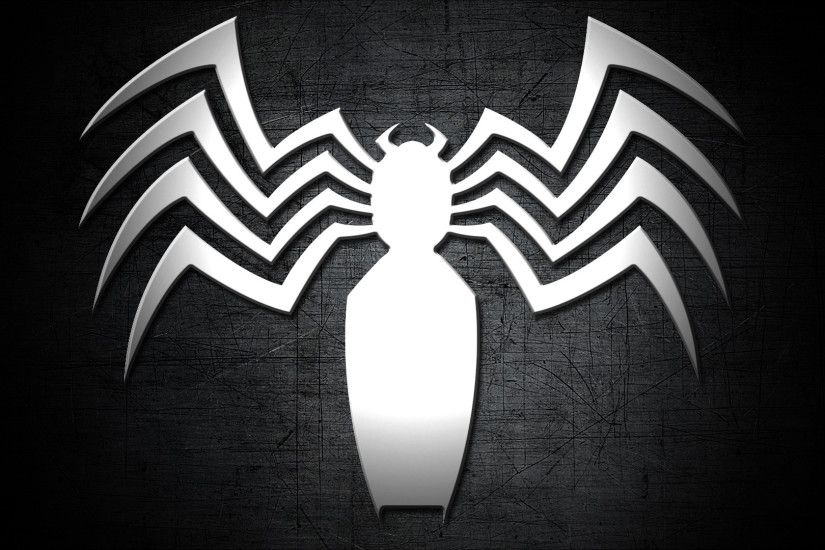Comics - Venom Spider Logo Metal Simple Wallpaper