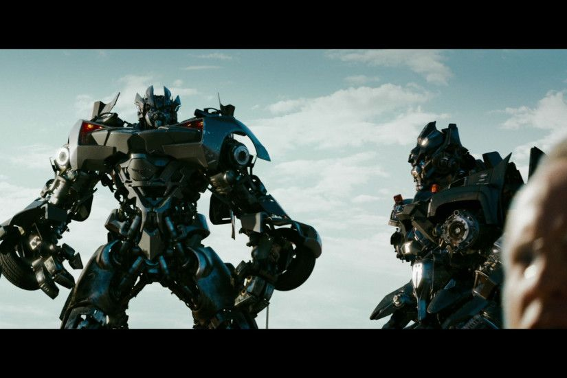 The Autobots sure got riled up when they got guns pointed at them,  especially Ironhide