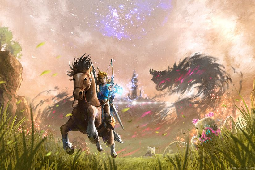 Video Game - The Legend of Zelda: Breath of the Wild Link Zelda Wallpaper