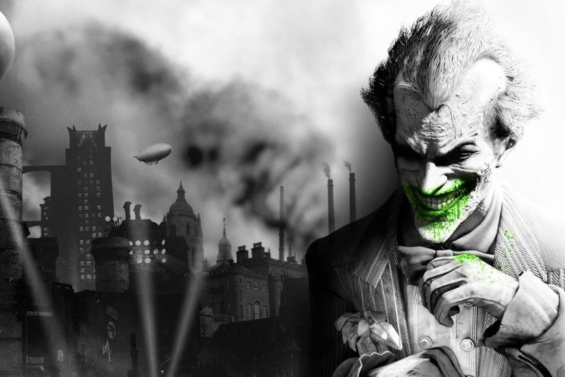 The Joker Arkham City HD desktop wallpaper : High Definition