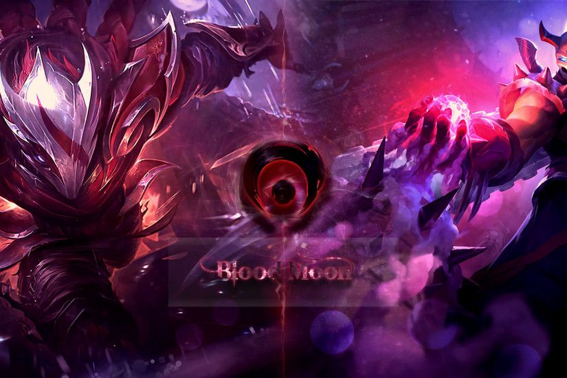Another Talon wallpaper Talon and Shen blood moon. ;p ...