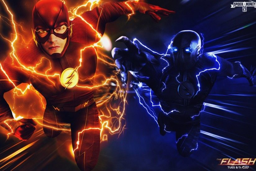 zoom vs flash wallpaper ...