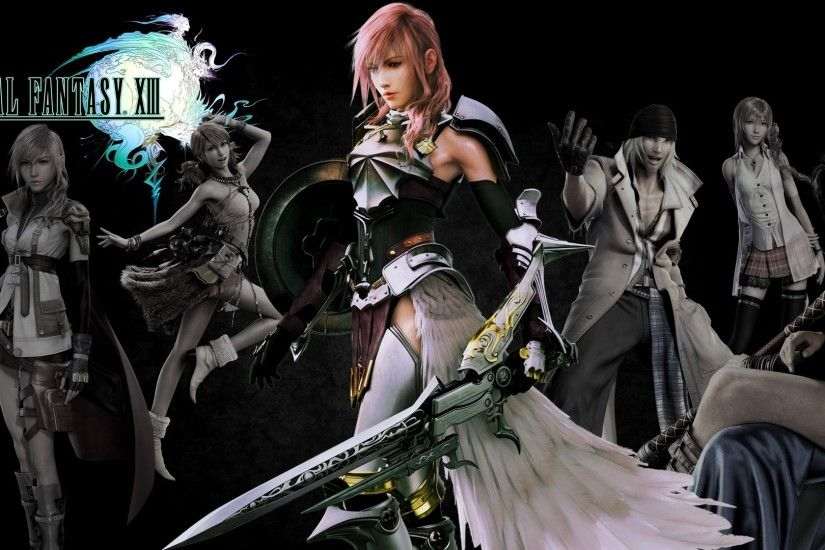 ... lordamrasnenharma Final Fantasy XIII /-2 wallpaper by lordamrasnenharma