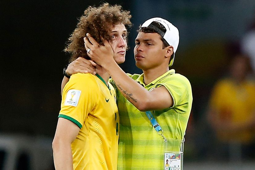 Brazil vs Germany World Cup 2014 video: Tearful David Luiz apologises after  abysmal semi-final defeat to Germany | The Independent