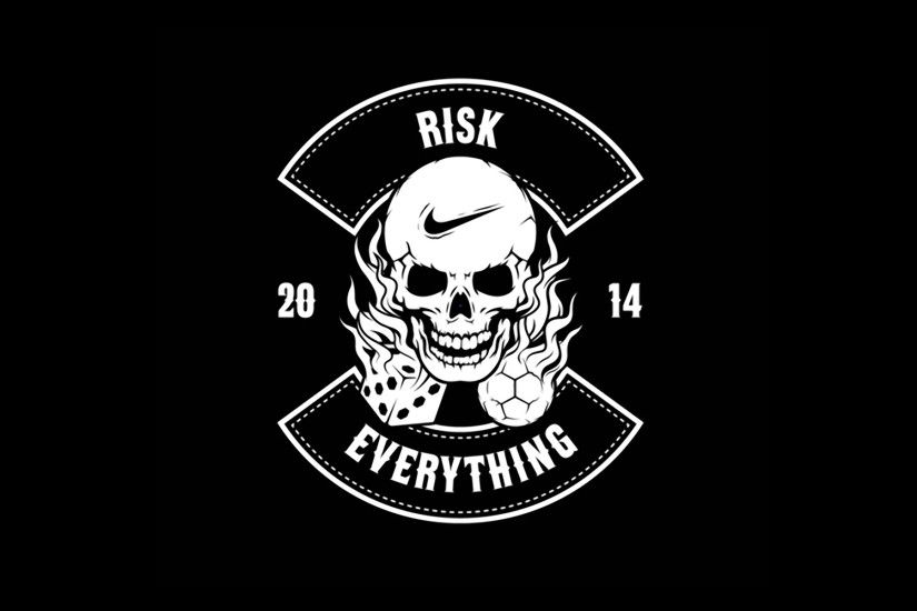 Nike Football Risk Everything Logo 2014 HD Wallpapers