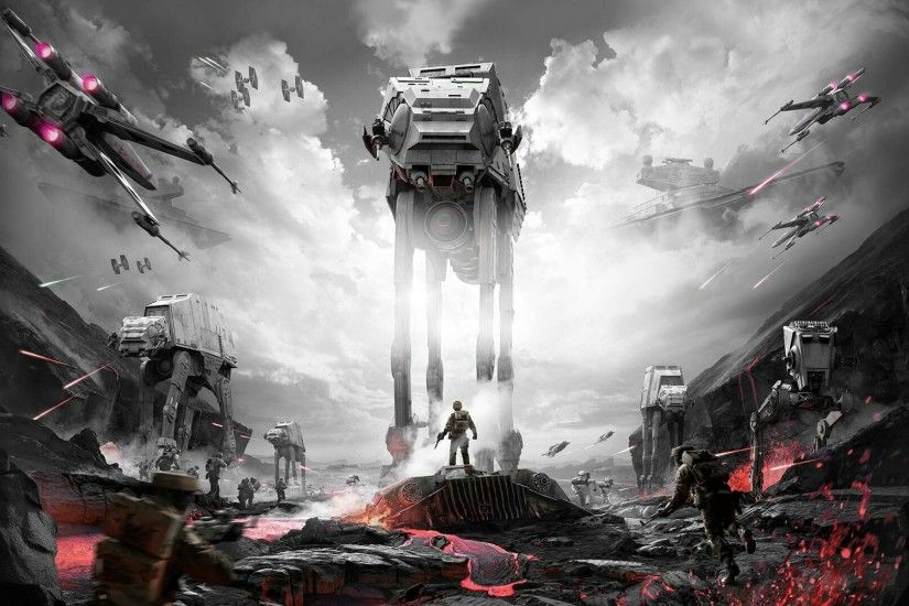 [Advice]Looking for some help with ideas for this awesome Star Wars  Battlefront wallpaper ...
