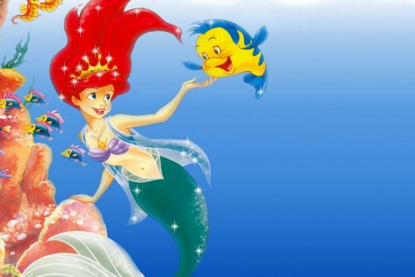 Little Mermaid Wallpaper High Quality 9556 - HD Wallpapers Site