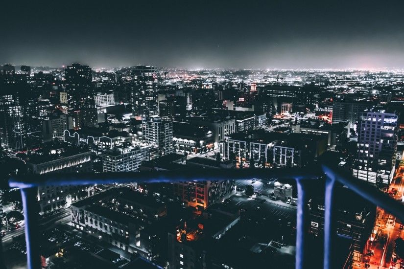 Preview wallpaper los angeles, united states, night city, buildings  1920x1080