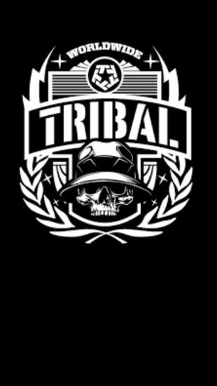 #tribal #black #wallpaper #android #iphone