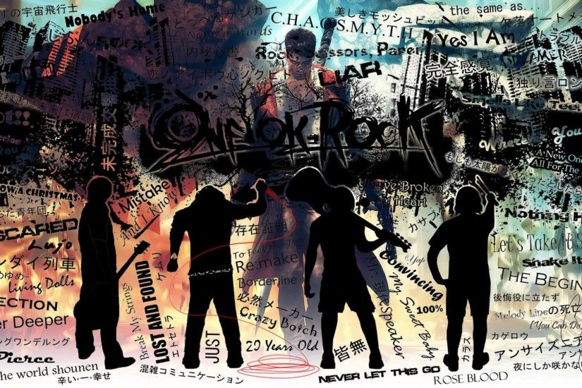 One Ok Rock Song Title Wallpaper Wallpaper
