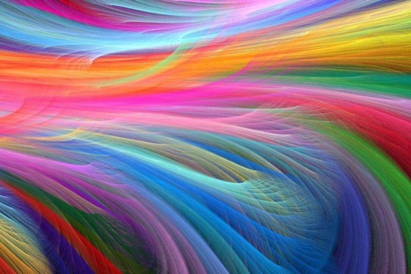 Amazing Colors Abstract Art Picture