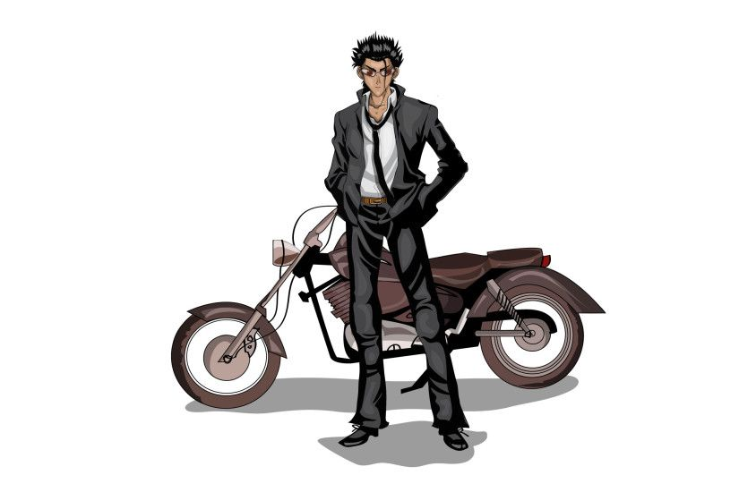 Irethiss 67 26 school rumble -harima and bike by kalath666
