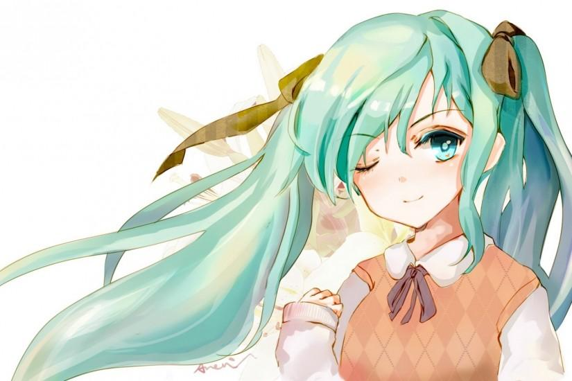 amazing hatsune miku wallpaper 2048x1152 download