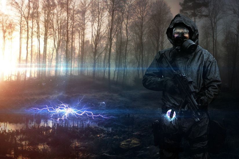 soldier, Vadim Sadovski, S.T.A.L.K.E.R., S.T.A.L.K.E.R.: Shadow of Chernobyl,  S.T.A.L.K.E.R.: Call of Pripyat, Gamer, Weapon, Apocalyptic, ...