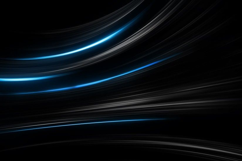 Blue Light Blaze Wallpaper Abstract 3D