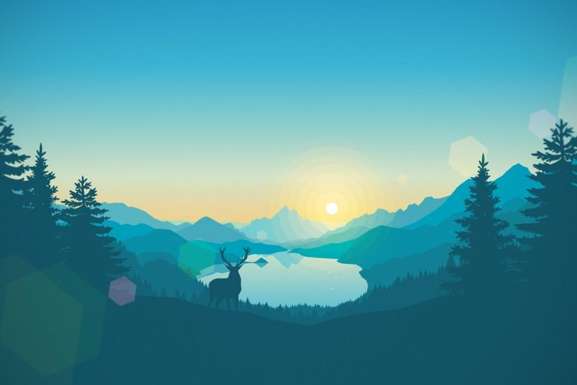 vertical firewatch wallpaper 3840x2160