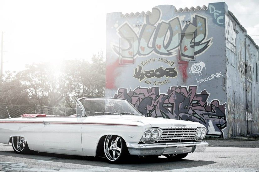 Lowrider Impala 1080p HD Wallpaper Classic Car