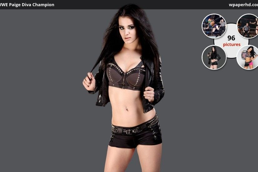 Res: 1920x1080, ... Paige - New WWE Divas Champion Wallpaper by Oetzi92