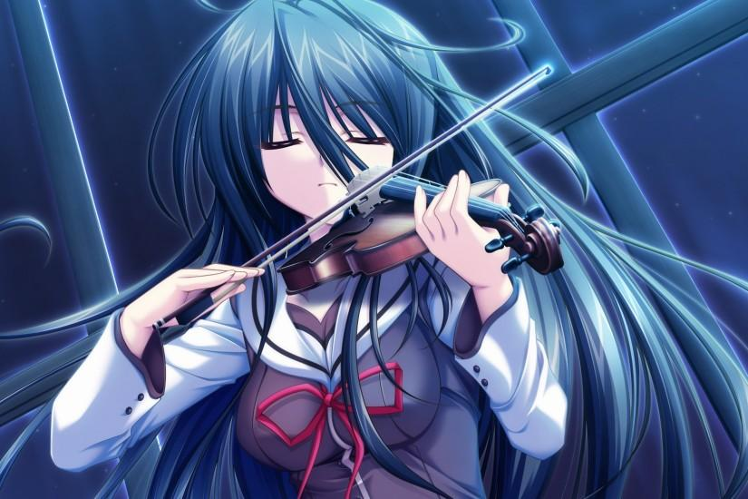 anime music violin wallpapers | walljpeg.com