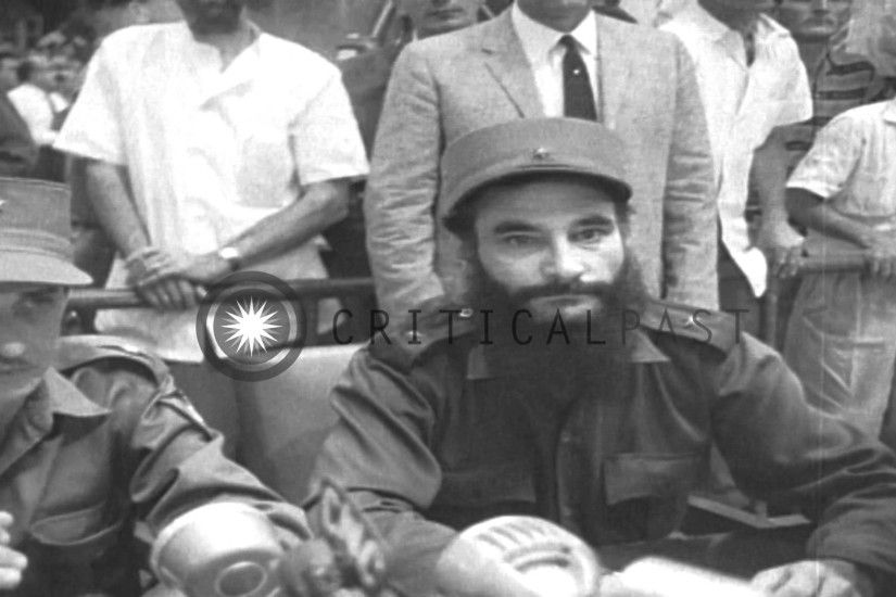 Fidel Castro addresses the people, and his military trials in Cuba. HD  Stock Footage - YouTube