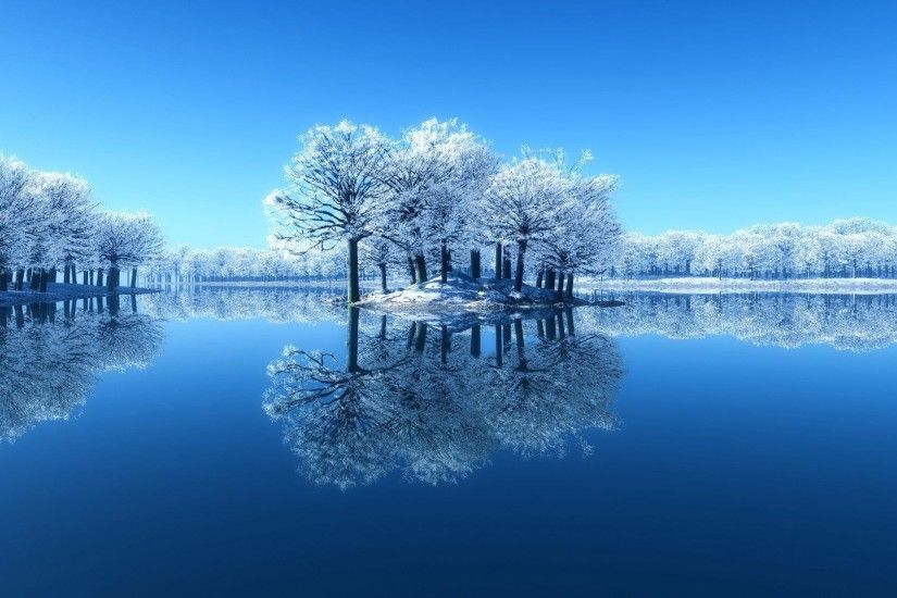 Water day phase clean desktop winter scenery wallpaper thumb