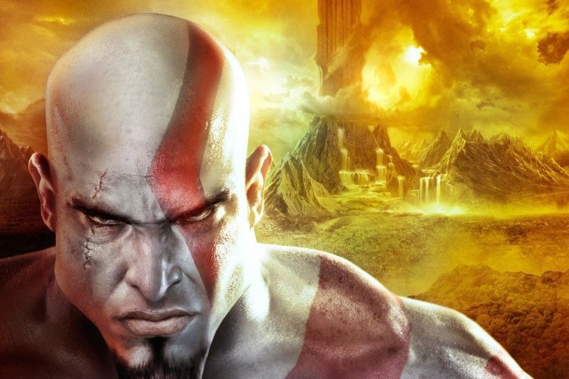 God Of War Kratos Wallpaper Hd