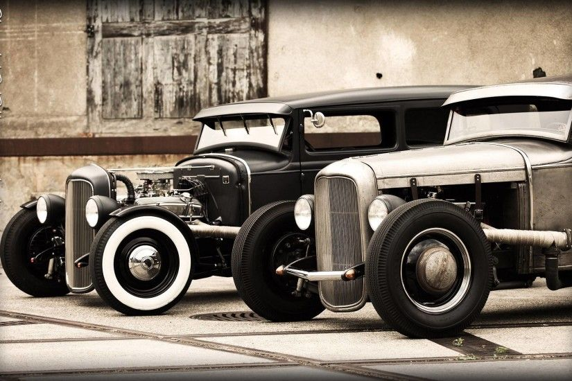 Hot Rod Wallpapers Group (83+)