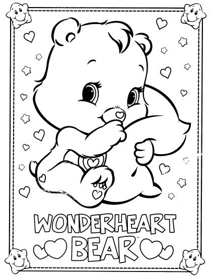Best Care Bear Coloring Pages 35 For Your Coloring for Kids with Care Bear  Coloring Pages