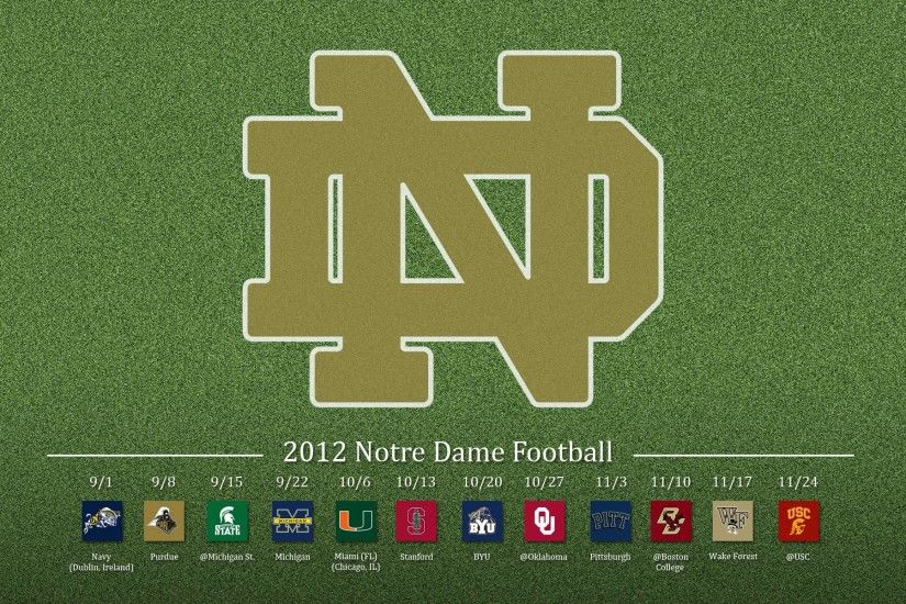 Notre Dame Football | Download HD Wallpapers