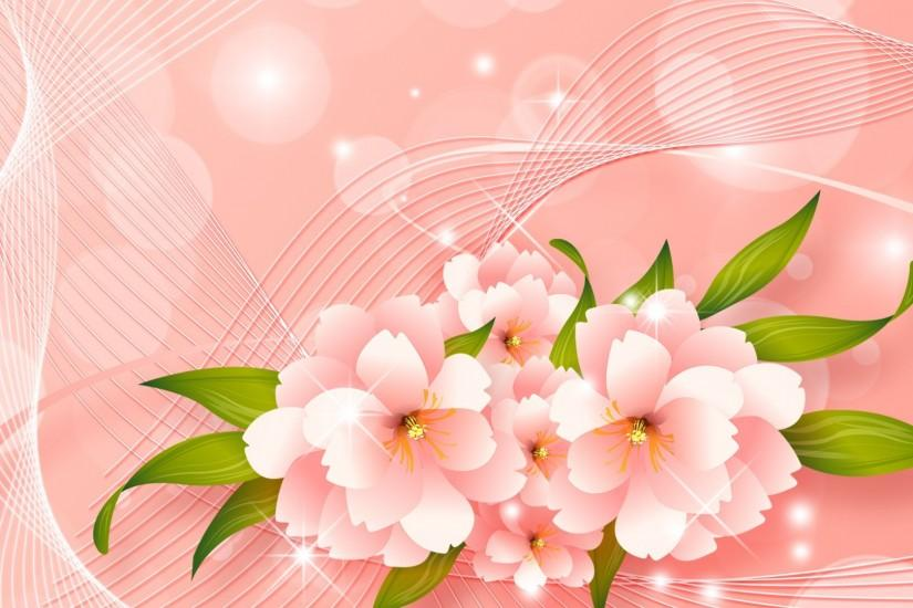 Peach Flower Background Wwwgalleryhipcom ...
