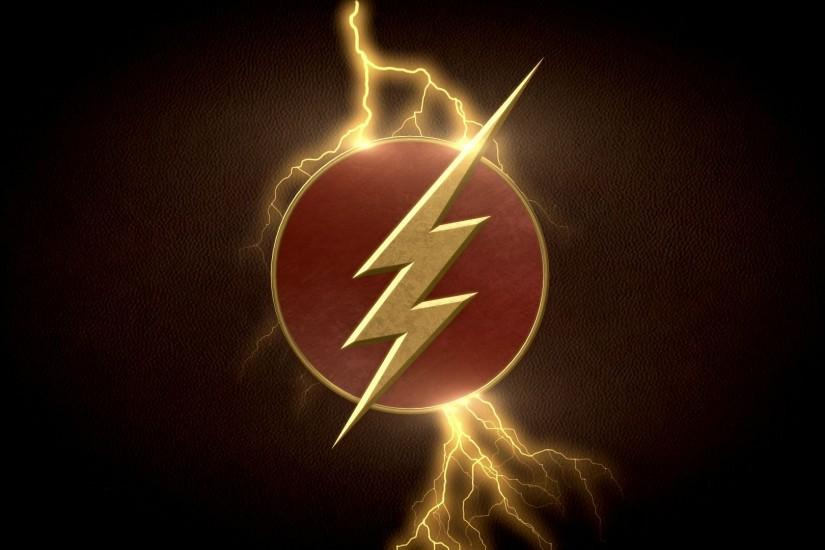 User BigRockDJ posted an awesome Flash logo wallpaper to r/DCcomics .