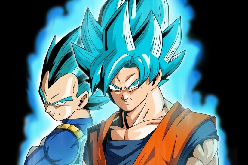 Anime - Dragon Ball Super Goku Vegeta (Dragon Ball) Wallpaper